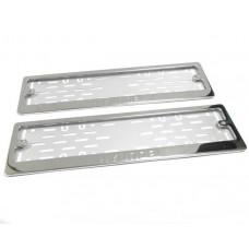 Рамки для номера Hyundai штамп