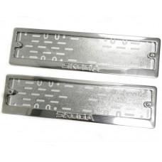 Рамки для номера Skoda штамп