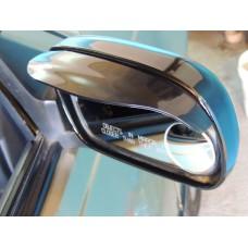 Дефлекторы боковых зеркал (ветровики) 2 шт черные