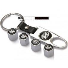 Колпачки на ниппель + брелок Hyundai-