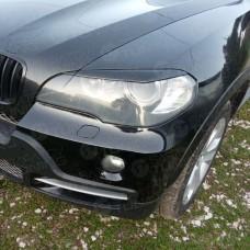 Накладки на фары BMW X5 X6 E70 E71 E72