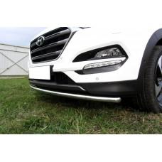 Защита переднего бампера Hyundai Tucson 4WD (2015) d42