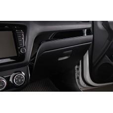 Накладка на панель Kia Rio 3 (11-н.в.) черная