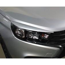 Реснички на фары Lada-Vesta 2015~