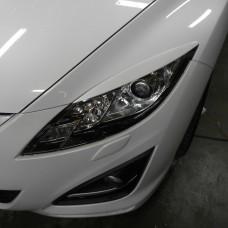 Накладки на фары Mazda 6 GH (2007-2012) (реснички)