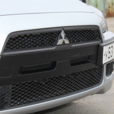 Ноздри в передний бампер Mitsubishi Lancer X (2007-2010)