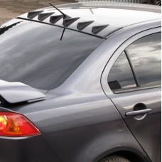 Козырек на крышу с 6 зубьями Mitsubishi Lancer X (2007-2016)
