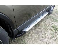 Пороги алюминиевые Toyota RAV-4 (2013-2019)