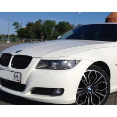 Накладки на фары BMW 3 E90 (отверстия под светодиоды)