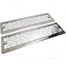 Рамки для номера Chevrolet штамп