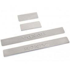 Накладки на пороги Honda-CR-V-3 штамп