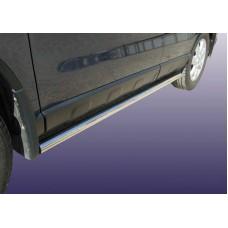 Защита порогов Honda-CR-V (2009) d57 труба
