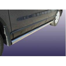 Защита порогов Honda-CR-V (2009) d76 труба