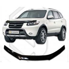 Дефлектор капота CА-Plastic Hyundai-Santa-Fe-2-CM