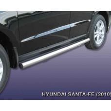 Пороги Hyundai-Santa-Fe-2-CM d76 труба