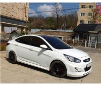 Пороги Hyundai-Solaris
