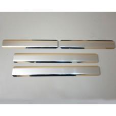 Накладки на пороги Lada-2110-2111-2112