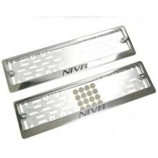 Рамки для номера Niva краска