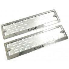 Рамки для номера Lada краска