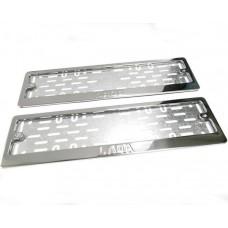 Рамки для номера Lada штамп