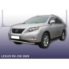 Защита переднего бампера LEXUS RX-350 (2009) d57