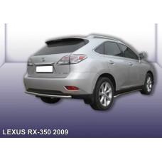 Защита заднего бампера LEXUS RX-350 (2009) d57