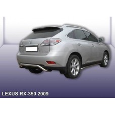 """Защита заднего бампера LEXUS RX-350 (2009) d57 """"скоба"""""""