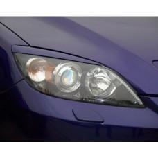 Накладки на фары Mazda-3-1-BK хетчбек