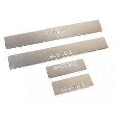 Накладки на пороги Mazda-3-BM-6-GJ штамп