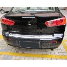 Накладка заднего бампер Mitsubishi-Lancer-10 седан