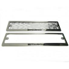 Рамки для номера Mitsubishi краска