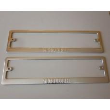 Рамки для номера Mitsubishi штамп