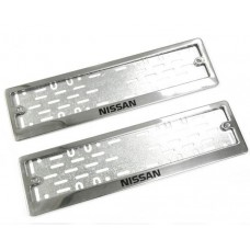 Рамки для номера Nissan краска