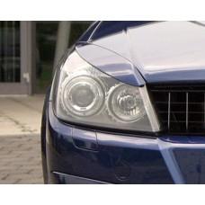 Накладки на фары Opel-Astra-H узкие