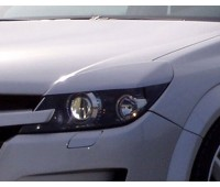 Накладки на фары Opel-Astra-H широкие