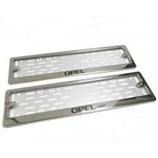 Рамки для номера Opel краска