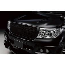 Решетка радиатора для Toyota Land Cruiser 200/202 тип SWL, (218) Черный металлик