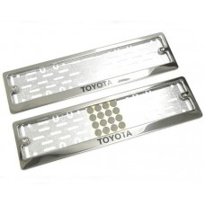 Рамки для номера Toyota краска