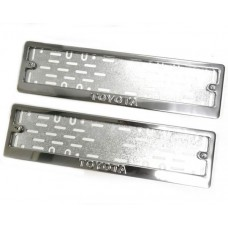 Рамки для номера Toyota штамп
