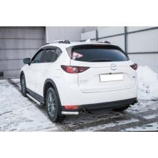 Защита заднего бампера Mazda CX-5 (2017) Уголки d57