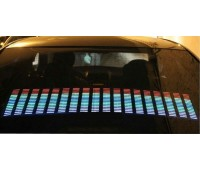 Эквалайзер на стекло 90х25см многоцветный