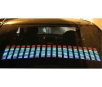 Эквалайзер на стекло 114х30см многоцветный