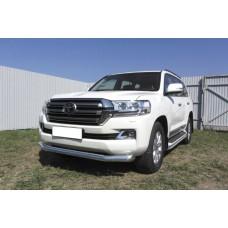 Защита переднего бампера Toyota LAND CRUISER 200 (2015) d76