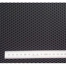 Сетка в бампер серебристая 100x40см N10