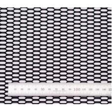 Сетка в бампер черная 100x40см N20