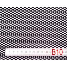 Сетка в бампер черная 100x25см N10