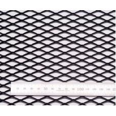 Сетка в бампер черная 100x25см N25